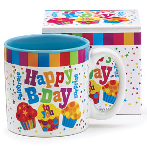 Happy B-Day Mug